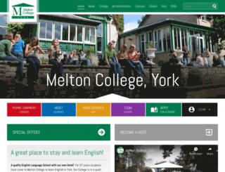 melton-college.co.uk screenshot