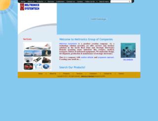 meltronicsgroup.com screenshot