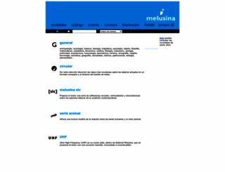 melusina.com screenshot