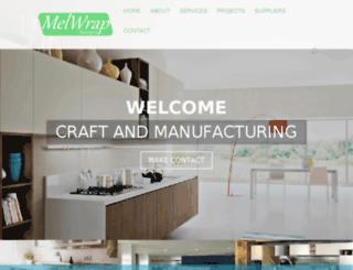 melwrapdesigns.co.za screenshot