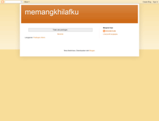 memangkhilafku.blogspot.com screenshot