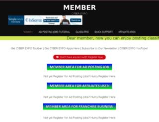 member.adpostjob4u.com screenshot