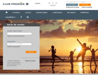 member.clubpremier.com screenshot