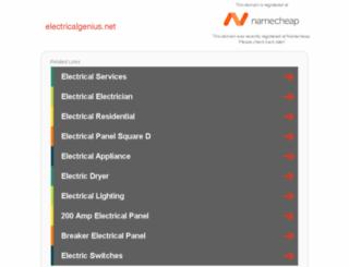 member.electricalgenius.net screenshot