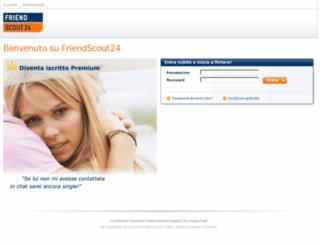 member.friendscout24.it screenshot