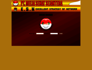 member.meliasehatsejahtera.com screenshot