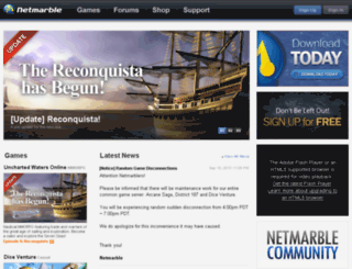 member.netmarble.com screenshot