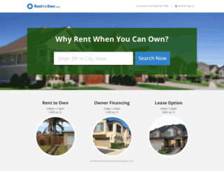 member.renttoown.org screenshot