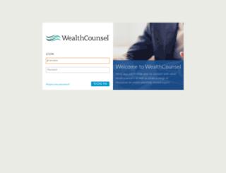 member.wealthcounsel.com screenshot