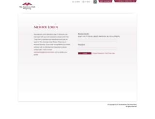 member1.americanclubhk.com screenshot