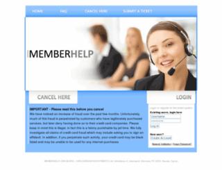 memberhelp.org screenshot