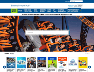 memberperks.ticketmonster.com screenshot