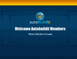 members.autobuildit.com screenshot