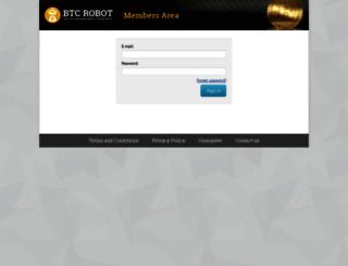 members.btcrobot.com screenshot
