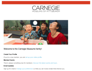 members.carnegiemuseums.org screenshot
