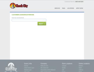 members.checkcity.com screenshot