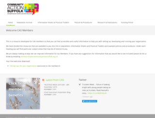 members.communityactionsuffolk.org.uk screenshot