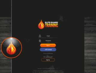 members.eliteguardtraining.com screenshot
