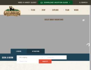 members.gatlinburg.com screenshot