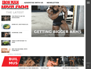 members.ironmanmagazine.com screenshot