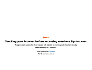 members.itprism.com screenshot
