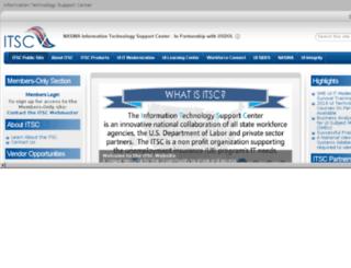 members.itsc.org screenshot