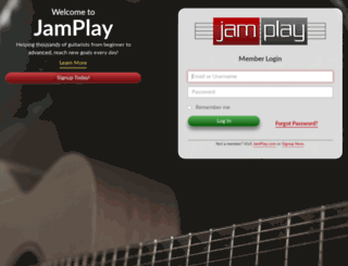 members.jamplay.com screenshot