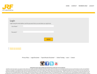 members.josefrakichfitness.com screenshot