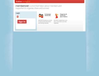 members.labour.org.uk screenshot