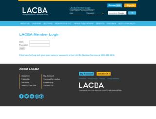 members.lacba.org screenshot