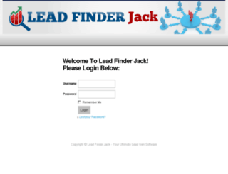 members.leadfinderjack.com screenshot