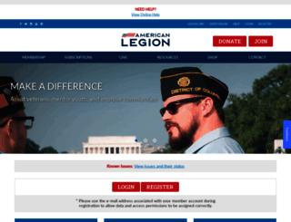 members.legion.org screenshot