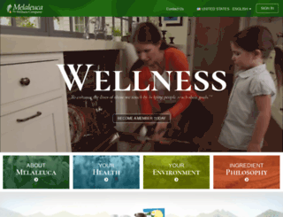 members.melaleuca.com screenshot