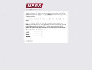 members.mersinc.org screenshot