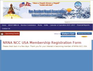 members.nrnnccusa.org screenshot
