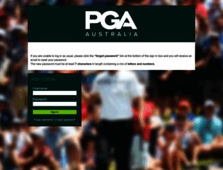 members.pga.org.au screenshot