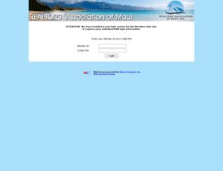 members.ramaui.com screenshot