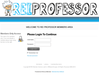 members.reiprofessor.com screenshot
