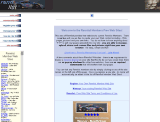 members.rennlist.com screenshot
