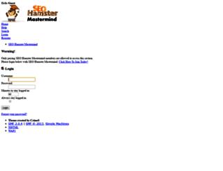 members.seohamster.com screenshot