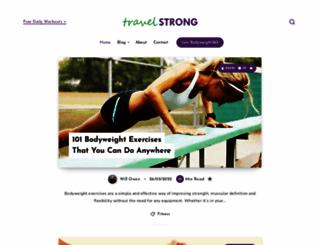members.travelstrong.net screenshot