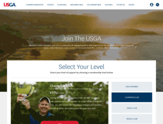 members.usga.org screenshot