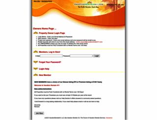 members.vacationrentals411.com screenshot