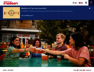 members.visitmadison.com screenshot