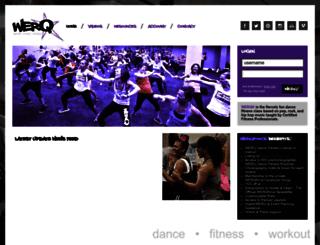 members.werqfitness.com screenshot