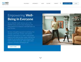 membership.webmd.com screenshot