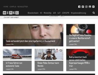 membership.wired.de screenshot