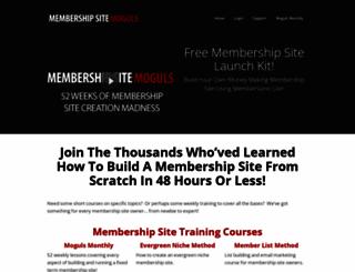 membershipsitemoguls.com screenshot