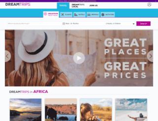 membersignup.dreamtripslife.com screenshot