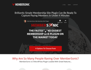 membersonic.com screenshot